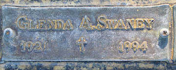 SWANEY, GLENDA A - Mohave County, Arizona | GLENDA A SWANEY - Arizona Gravestone Photos