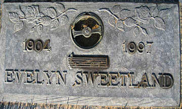SWEETLAND, EVELYN - Mohave County, Arizona | EVELYN SWEETLAND - Arizona Gravestone Photos