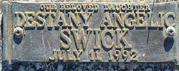 SWICK, DESTANY ANGELIC - Mohave County, Arizona   DESTANY ANGELIC SWICK - Arizona Gravestone Photos