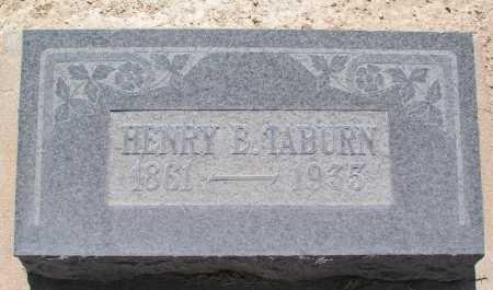 TABURN, HENRY E. - Mohave County, Arizona | HENRY E. TABURN - Arizona Gravestone Photos