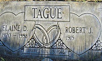 TAGUE, ROBERT J - Mohave County, Arizona | ROBERT J TAGUE - Arizona Gravestone Photos
