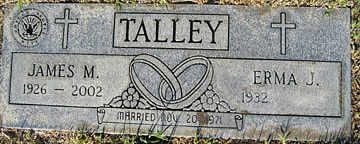 TALLEY, JAMES M - Mohave County, Arizona | JAMES M TALLEY - Arizona Gravestone Photos