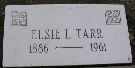 TARR, ELSIE L. - Mohave County, Arizona   ELSIE L. TARR - Arizona Gravestone Photos