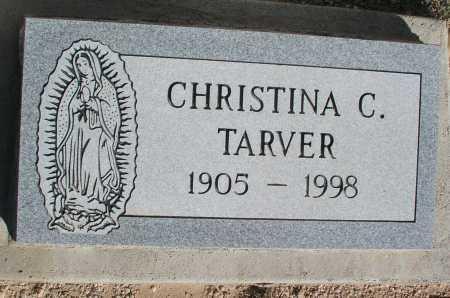 TARVER, CHRISTINA C. - Mohave County, Arizona | CHRISTINA C. TARVER - Arizona Gravestone Photos