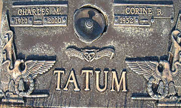 TATUM, CHARLES M - Mohave County, Arizona   CHARLES M TATUM - Arizona Gravestone Photos