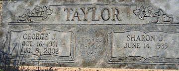 TAYLOR, GEORGE J - Mohave County, Arizona | GEORGE J TAYLOR - Arizona Gravestone Photos