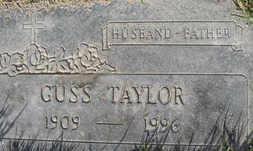 TAYLOR, GUSS - Mohave County, Arizona | GUSS TAYLOR - Arizona Gravestone Photos