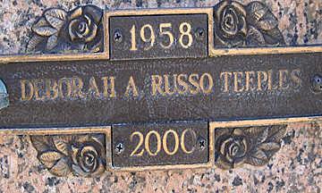 TEEPLES, DEBORAH A - Mohave County, Arizona   DEBORAH A TEEPLES - Arizona Gravestone Photos