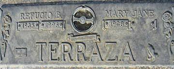 TERRAZA, MARY JANE - Mohave County, Arizona | MARY JANE TERRAZA - Arizona Gravestone Photos