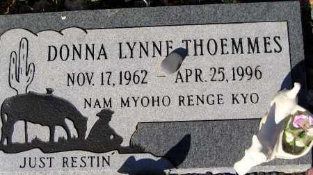 THOEMMES, DONNA LYNNE - Mohave County, Arizona   DONNA LYNNE THOEMMES - Arizona Gravestone Photos