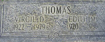 THOMAS, EDITH MAE - Mohave County, Arizona | EDITH MAE THOMAS - Arizona Gravestone Photos
