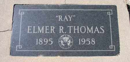 "THOMAS, ELMER RAYMONY ""RAY"" ""SIDEWINDER"" - Mohave County, Arizona 