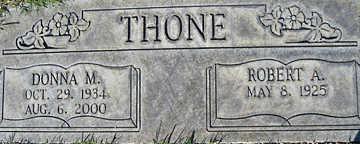 THONE, DONNA M - Mohave County, Arizona | DONNA M THONE - Arizona Gravestone Photos
