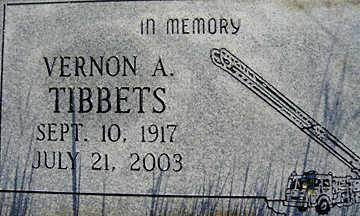 TIBBETS, VERNON A - Mohave County, Arizona | VERNON A TIBBETS - Arizona Gravestone Photos