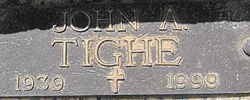 TIGHE, JOHN A - Mohave County, Arizona | JOHN A TIGHE - Arizona Gravestone Photos