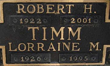 TIMM, LORRAINE M - Mohave County, Arizona   LORRAINE M TIMM - Arizona Gravestone Photos
