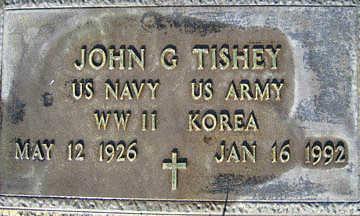 TISHEY, JOHN G - Mohave County, Arizona   JOHN G TISHEY - Arizona Gravestone Photos