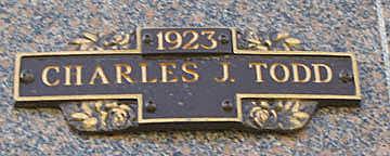 TODD, CHARLES J - Mohave County, Arizona   CHARLES J TODD - Arizona Gravestone Photos