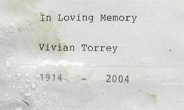 TORREY, VIVIAN - Mohave County, Arizona | VIVIAN TORREY - Arizona Gravestone Photos