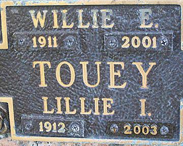 TOUEY, LILLIE I - Mohave County, Arizona | LILLIE I TOUEY - Arizona Gravestone Photos