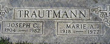 TRAUTMANN, JOSEPH C - Mohave County, Arizona | JOSEPH C TRAUTMANN - Arizona Gravestone Photos