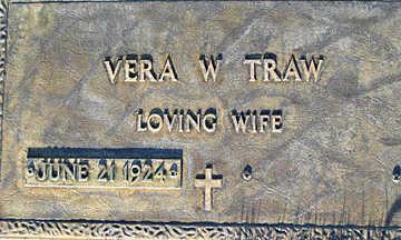 TRAW, VERA W - Mohave County, Arizona | VERA W TRAW - Arizona Gravestone Photos