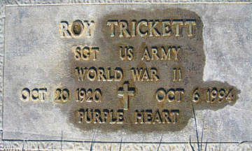 TRICKETT, ROY - Mohave County, Arizona | ROY TRICKETT - Arizona Gravestone Photos