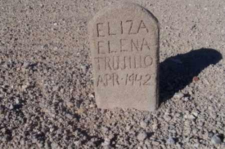 TRUJILLO, ELIZA ELLEN - Mohave County, Arizona | ELIZA ELLEN TRUJILLO - Arizona Gravestone Photos
