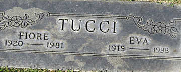 TUCCI, EVA - Mohave County, Arizona | EVA TUCCI - Arizona Gravestone Photos