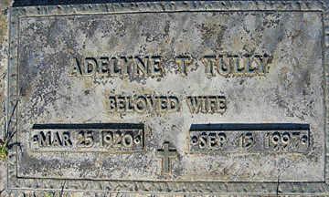 TULLY, ADELYNE T - Mohave County, Arizona | ADELYNE T TULLY - Arizona Gravestone Photos