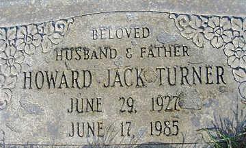 TURNER, HOWARD JACK - Mohave County, Arizona | HOWARD JACK TURNER - Arizona Gravestone Photos