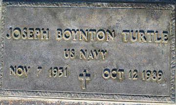 TURTLE, JOSEPH BYNTON - Mohave County, Arizona | JOSEPH BYNTON TURTLE - Arizona Gravestone Photos