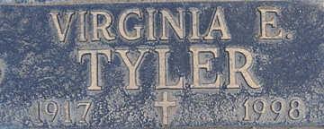 TYLER, VIRGINIA E - Mohave County, Arizona | VIRGINIA E TYLER - Arizona Gravestone Photos