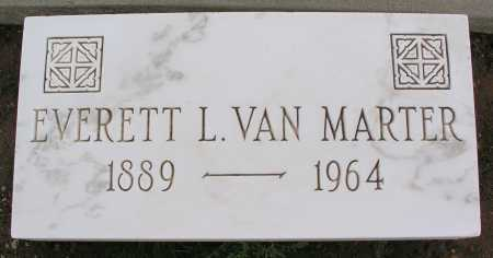 VAN MARTER, EVERETT L. - Mohave County, Arizona | EVERETT L. VAN MARTER - Arizona Gravestone Photos
