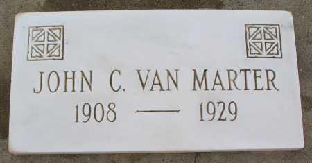 VAN MARTER, JOHN C. - Mohave County, Arizona | JOHN C. VAN MARTER - Arizona Gravestone Photos