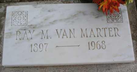 VAN MARTER, RAY M. - Mohave County, Arizona | RAY M. VAN MARTER - Arizona Gravestone Photos