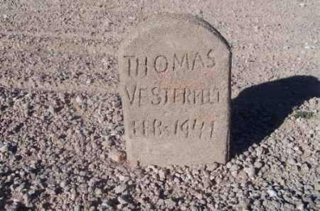 VESTERFELT, THOMAS - Mohave County, Arizona | THOMAS VESTERFELT - Arizona Gravestone Photos