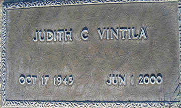 VINTILA, JUDITH C - Mohave County, Arizona | JUDITH C VINTILA - Arizona Gravestone Photos