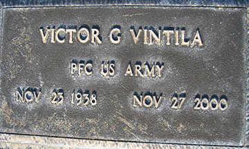 VINTILA, VICTOR G - Mohave County, Arizona   VICTOR G VINTILA - Arizona Gravestone Photos