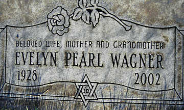 WAGNER, EVELYN PEARL - Mohave County, Arizona | EVELYN PEARL WAGNER - Arizona Gravestone Photos