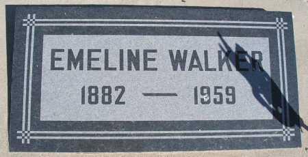 WALKER, EMELINE - Mohave County, Arizona | EMELINE WALKER - Arizona Gravestone Photos