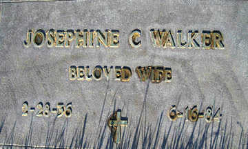 WALKER, JOSEPHINE C - Mohave County, Arizona | JOSEPHINE C WALKER - Arizona Gravestone Photos