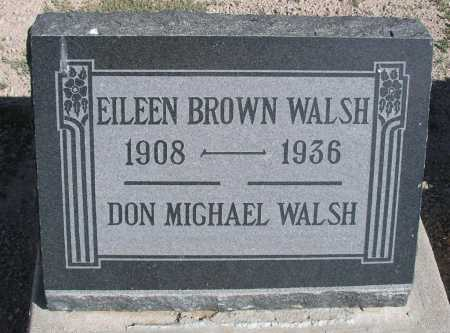 WALSH, EILEEN BROWN - Mohave County, Arizona | EILEEN BROWN WALSH - Arizona Gravestone Photos