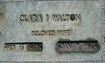 WALTON, CLARA I - Mohave County, Arizona   CLARA I WALTON - Arizona Gravestone Photos
