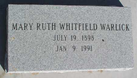 WHITFIELD WARLICK, MARY RUTH - Mohave County, Arizona | MARY RUTH WHITFIELD WARLICK - Arizona Gravestone Photos