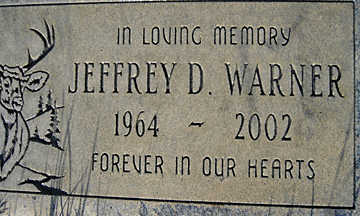 WARNER, JEFFERY D - Mohave County, Arizona | JEFFERY D WARNER - Arizona Gravestone Photos