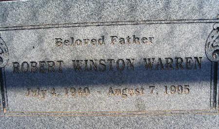 WARREN, ROBERT WINSTON - Mohave County, Arizona | ROBERT WINSTON WARREN - Arizona Gravestone Photos