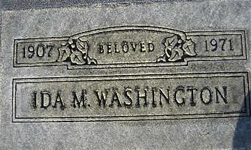 WASHINGTON, IDA MAY - Mohave County, Arizona | IDA MAY WASHINGTON - Arizona Gravestone Photos