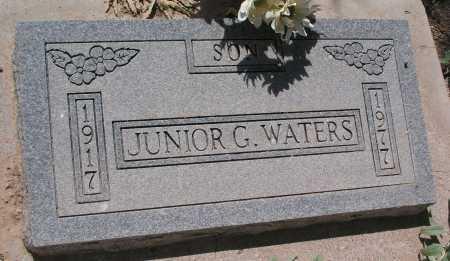 WATERS, JUNIOR G. - Mohave County, Arizona   JUNIOR G. WATERS - Arizona Gravestone Photos