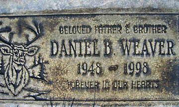 WEAVER, DANIEL B - Mohave County, Arizona | DANIEL B WEAVER - Arizona Gravestone Photos